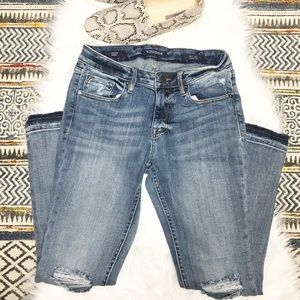 Vigoss Jagger Distressed Ankle Jeans